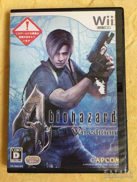 Wii游戏 生化危机4 游戏光盘