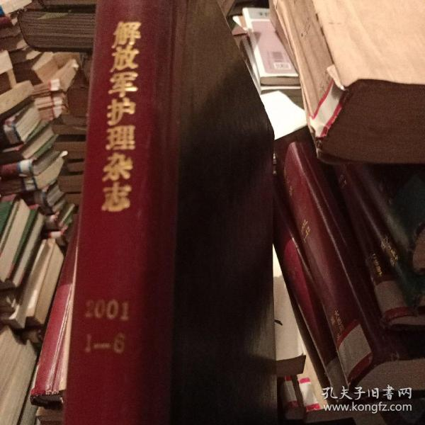期刊 解放军护理杂志 2001(1-6双月刊 合订)