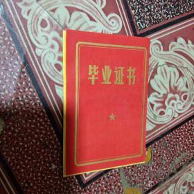 语录毕业证书.六安县毛坦厂小学毕业证书