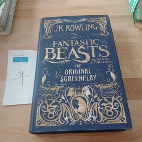 (UK Ver.)Fantastic Beasts and Where to Find Them : The Original Screenplay