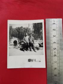 1977年沈阳中山公园留影