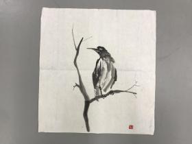 著名作家 画家马叙老师画 48x45cm