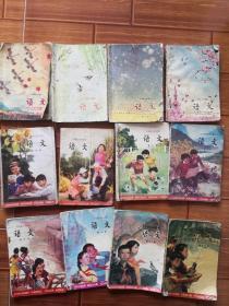 六年制小学课本12本