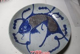 瓷鱼盘-113764
