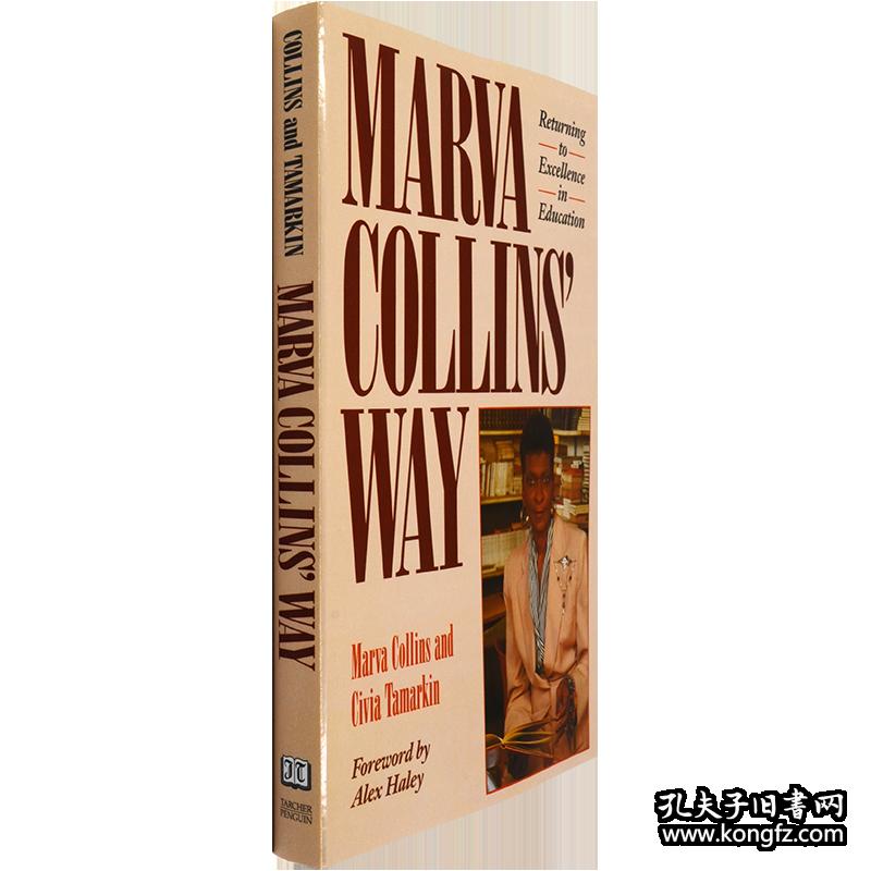 现货英文原版马文柯林斯的教育方法柯林斯之路Marva Collins' Way亲子育儿书籍