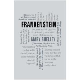 Frankenstein (Word Cloud Classics) 弗兰肯斯坦 科学怪人 英文原版