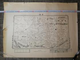 西藏 青海省之 章塘地图(地图底本甲种第四十二号)