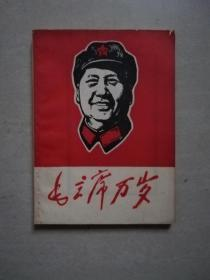 毛主席万岁--毛主席(版画)肖像汇编【林题全】