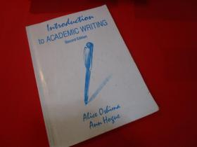 INTRODUCTION To ACADEMIC WRITING/2nd EDITION/Oshima,Alice/LONGMAN/223Pages