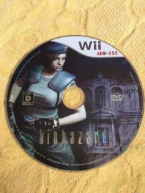 Wii游戏 生化危机 游戏光盘