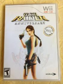 Wii游戏 古墓丽影 10周年纪念版 游戏光盘
