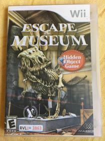 Wii游戏 逃离博物馆 游戏光盘
