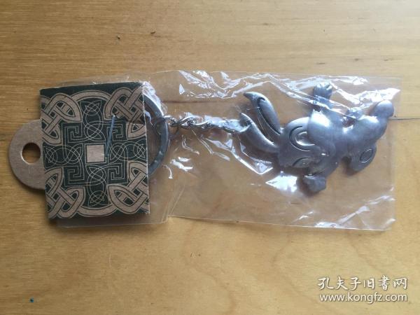 不锈钢钥匙扣   小白兔