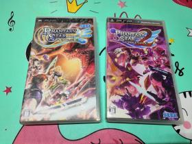 PSP正版游戏,梦幻之星携带版1+2
