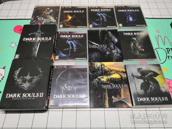 ps3正版游戏,黑暗之魂,6张游戏合售,不拆卖