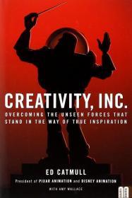现货英文原版创意公司:克服阻拦灵感的隐形力量 Creativity Inc.