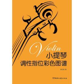 小提琴调性指位彩色图谱 宋汉鑫 湖南文艺出版社9787540488581正版全新图书籍Book