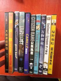 外国电影.故事片.DVD光盘.盒装 :【《大侦探维多克(夺面解码)》《霹雳煞》《鸭子汤》《迷失侏罗纪  蓝光版》《茶花女》《公民凯恩》《总有骄阳》《万物理论》《君子协定》《绿野仙踪》】10部合售不拆售,不重复 看图