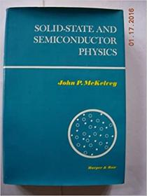 Solid State and Semiconductor Physics