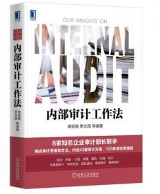 正版二手 内部审计工作法 谭丽丽、罗志国  著 机械工业出版社9787111558453