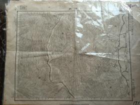 西昌县地图。礼州地图,民国