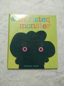 英文原版 少儿绘本 Monster,monster 怪物