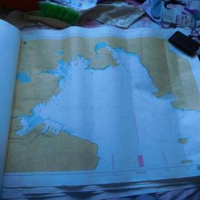 航海图--中国、黄海、大连港---大连内港及附近(1100*800)