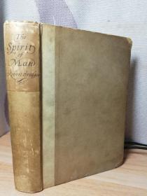 1916年  THE SPIRIT OF MAN  夹有2个小报纸  17.7X12.7CM