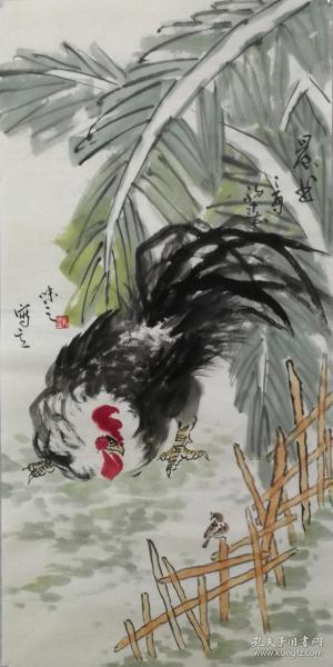 当代艺术家协会副主席手绘真迹!!晨曲70