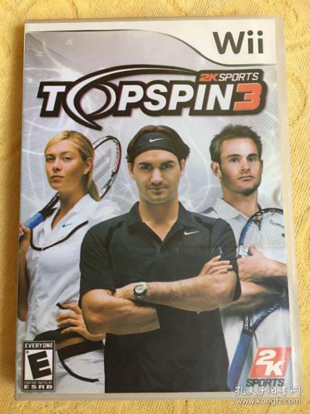 Wii游戏 上旋高手3 游戏光盘