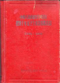 布脊精装本:《中国人民解放军昆明--建国十年来卫生建设成就选编(1949-1959)》【扉页至目录前缺页】