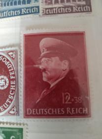 希特勒邮票