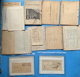 上海市敌伪时期公共卫生原始档案资料 (共计130页):《特高课时期清洁所概况》《上海市卫生局概况(35年)全是照片和巨幅地图一张》 《上海市清除垃圾工作报告(民国36年)》 《上海市清除粪便工作概况及改进计划(民国36年)》等