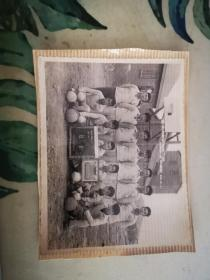 1959年省冶建安公司九工区文体队全体合影