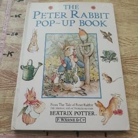 The Peter Rabbit Pop-up Book-立体书,彼得·兔子弹出的书