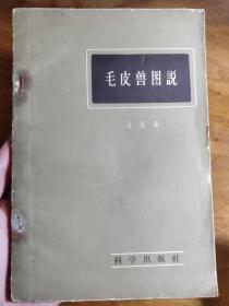 毛皮兽图说——寿振黄 编——科学出版社1958年版