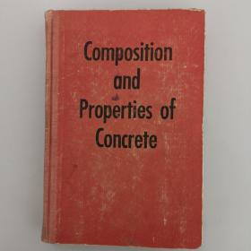 Composition and Properties of Concrete