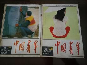 老杂志:中国青年(1988年第2、3期)——另有其他年份的,欢迎选购!