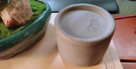 老陶盒(蛐蛐罐,罐底有玉荣泉造)