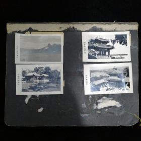 60年代北京人民公园照片12张配文字说明•颐和园照片12张配文字说明•毛主席照片9张(含毛、林合影一张)•三种合售!