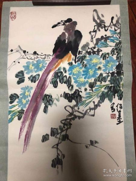 四川著名画家林绍基老师精品花鸟