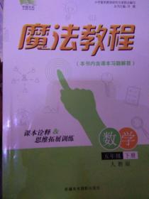 魔法教程 : 人教版. 五年级数学. 下册