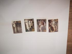 2002-13 大足石刻 邮票一套四枚