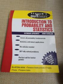Schaums Outline of Introduction to Probability and Statistics-概率统计概论