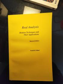 Real Analysis Modern Techniques and Their Applications
