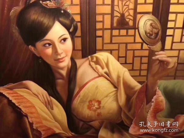 着名油画家陈顺强老师作品,画心90x120,不带框,作品编号50178