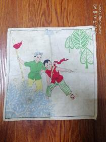 文革红卫兵布手帕