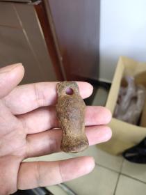 50元低出,宋辽金元时期小铁权老秤砣一个,摆陈千年佳物,可作架上挂缀,保真保老。