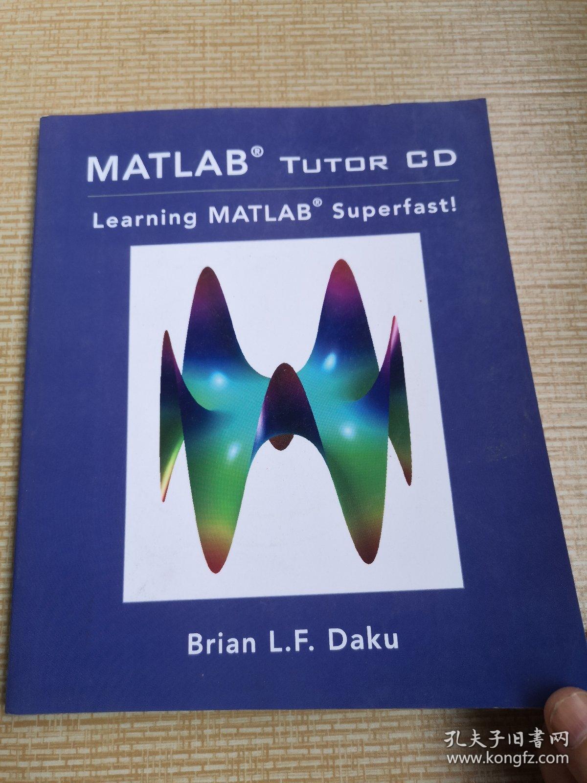 MATLABTutorCD:LearningMATLABSuperfast!