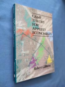 Game Theory for Applied Economists 经济学家应用博弈理论